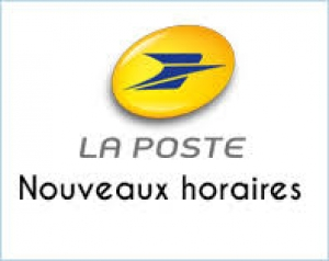 CHANGEMENT HORAIRES AGENCE POSTALE COMMUNALE