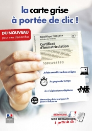 ATTENTION SITE FRAUDULEUX POUR ETABLISSEMENT CARTE GRISE